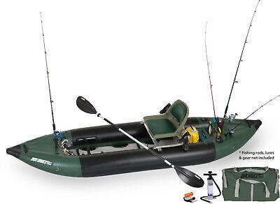 SEA EAGLE 350fx SWIVEL SEAT FISHING RIG INFLATABLE FISHING EXPLORER KAYAK  BOAT db560a7e615e0