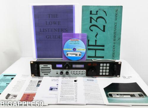 Lowe HF-235HR Radio Shortwave AM SSB CW Receiver *LOADED* *MILITARY-COMMERCIAL*
