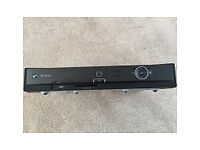 BT Vision + Set Top Box with remote control hand set