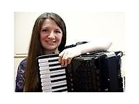 Accordion, Piano & Flute Lessons
