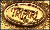 1970s Trifari Signature Stamp with Copyright