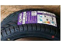Tyres 195/50/15 and 175/55/15