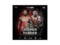 Joshua v Parker Tickets