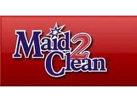 Domestic Cleaner required for Kidlington, £8.00 per hour.