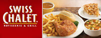 Swiss chalet is growing! Limited positions available!