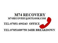 24/7 VEHICLE RECOVERY / TRANSPORT SERVICE