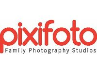 PIXIFOTO - PHOTOGRAPHY STUDIO TEAM MEMBER - FULL TIME 40 hours over 5 days