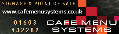 Cafe Menu Systems UK