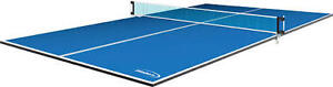Foldable table tennis top