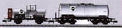 Minitrix 15125 DB Vagone Cisterna Rheinpreussen EP III Nuovo
