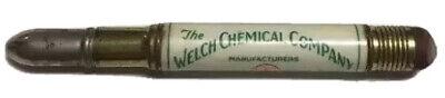 Vtg Welch Chemical Company Bullet Pencil Columbus Ohio Agriculture Farming Farm