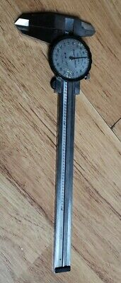 6 Brown Sharpe Dial-caliper No.599-578-1 Stainless Tempered Swiss Made 001