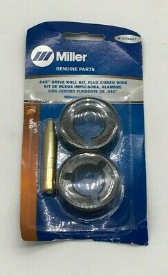 Miller Genuine .045 Drive Roll Kit Fc Wire For Millermatic 212 252 - 079607