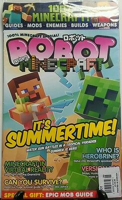 Robot Presents Minecraft Its Summertime Guides Mods Enemies Free Shipping Sb