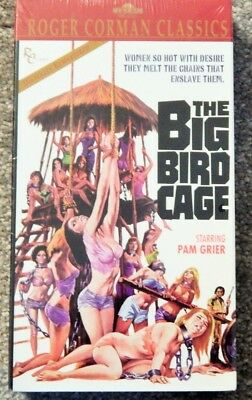 BIG BIRD CAGE (1972) (1990S VHS) SEALED NEW, PAM GRIER, ANITA FORD, CAROL SPEED