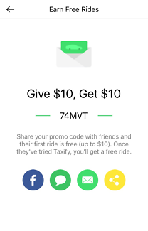 Free Taxify Ride Code: 74MVT