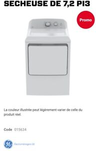 Washer dryer GE LAVEUSE SÉCHEUSE