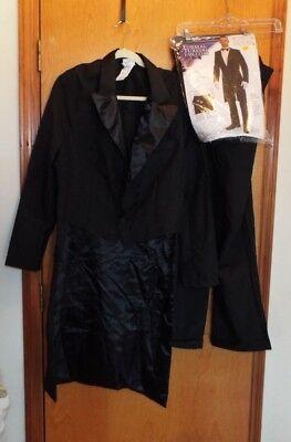 Formal Tuxedo Tail Coat Tux Hollywood Awards Show Party Halloween Adult - Hollywood Awards Shows