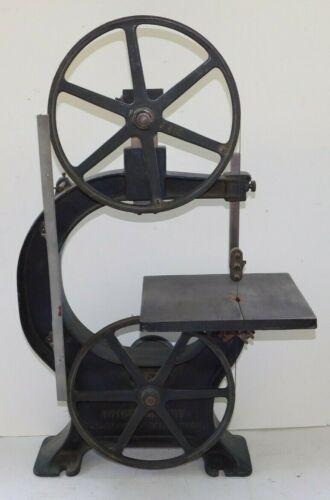 "Antique BOICE CRANE C-200 Bandsaw 12"" Cast Iron Woodworking Bench Carpentry"