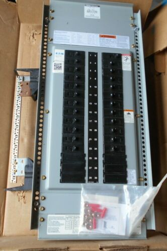 Eaton Cutler Hammer 1phase 30 circuit 225amp main lug panel board interior, NEW