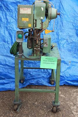 Chicago Rivet 176 Rivet Machine With Parker Hannifin Pneumatic Cylinder Cbc2a18c