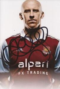 WEST-HAM-JAMES-COLLINS-SIGNED-6x4-PORTRAIT-PHOTO-COA