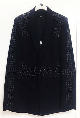 [Givenchy] Gorgeous Studded Black Jacket Sz FR 38, US 6 / Auth NWT $4600