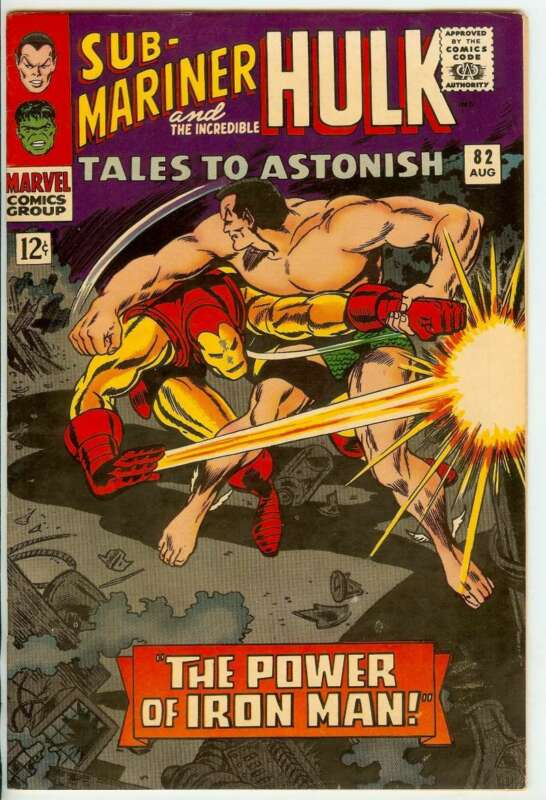 TALES TO ASTONISH #82 8.0