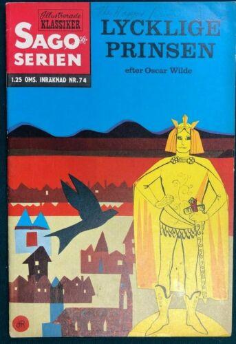 CLASSICS ILLUSTRATED JR #74 The Happy Prince (1951>) Swedish edition HRN 74