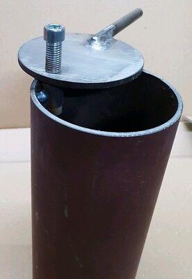 Abgasregler + Rohr, Räucherofen, Smoker, BBQ, Kugelgrill, Rauch Regler