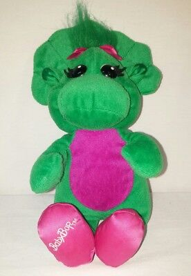 Barney   Friends Baby Bop Plush   Sings Abc Song Musical Toy