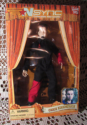 NSYNC Boy Band Collectible Marionette Vintage 2000 Action Fig Chris KirkPatrick
