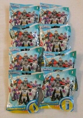 Imaginext DC SUPER FRIENDS SERIES 1 ~ ALL 8 Sealed Bags, Red Hood, Nightwing, +