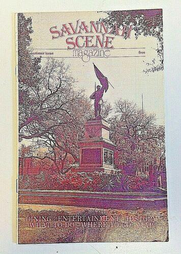 Vintage SAVANNAH SCENE Magazine Summer Issue Dining Entertainment History Map GA