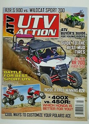 ATV UTV Action Best Mud Tires Young Riders XR700 Test May 2015 FREE SHIPPING