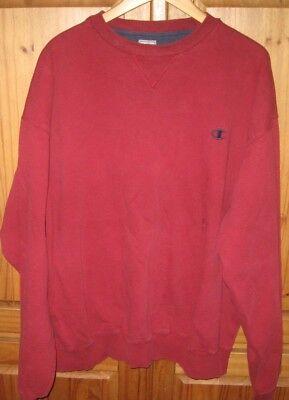 Champion Crew Sweatshirt (Champion Men's Sweat Shirt Crew Pullover Maroon Size XX Large )