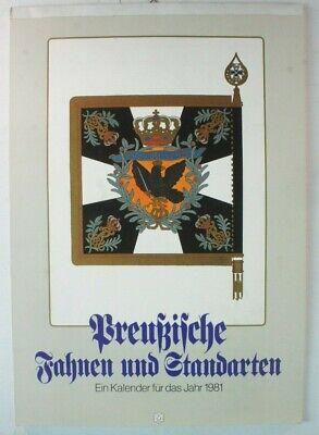 Kalender Preußische Fahnen und Standarten 1981 Y4-583 (Stand Kalender)
