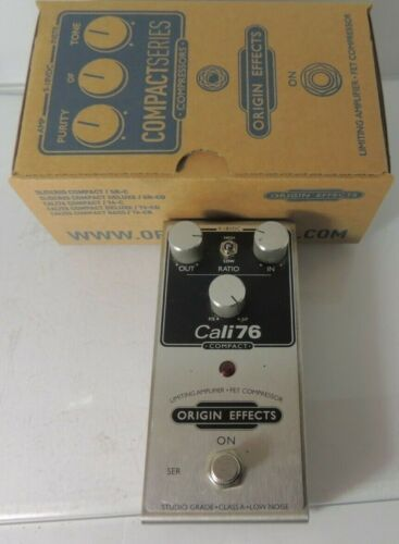 Origin Effects Cali76 Compact Compressor Effects Pedal Free USA Ship