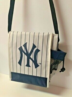 Yankees SGA Soft Insulated Lunch Bag, Hat and Glasses.