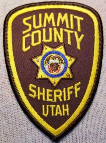 UT Summit County Utah Sheriff Patch