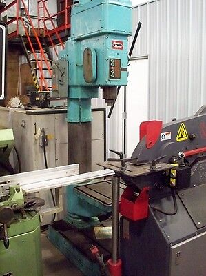 9738 Arboga 32 Single Spindle Geared Head Drill