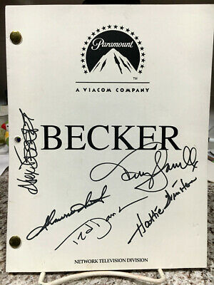 BECKER CAST SIGNED SCRIPT-with TED DANSON-TERRY FARRELL-H.WINSTON-DESERT-S.SMITH