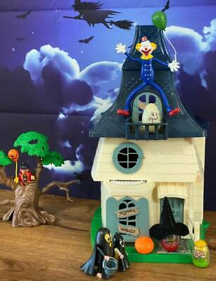 Vintage Weebles Haunted House+Ghost,Witch,Fisher Price Little People EXTRA'S
