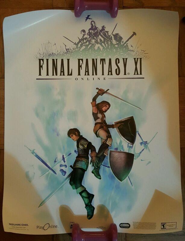 Promo poster Final Fantasy XI Online