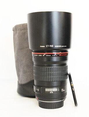 # Canon EF 135mm f/2 L USM Lens  135.2 F/2.0 S/N 218138