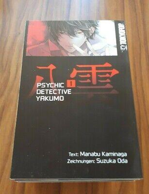 Psychic Detektive Yakumo Band 1-12,  Tokyopop,Manabu Kaminaga, Suzuka Oda
