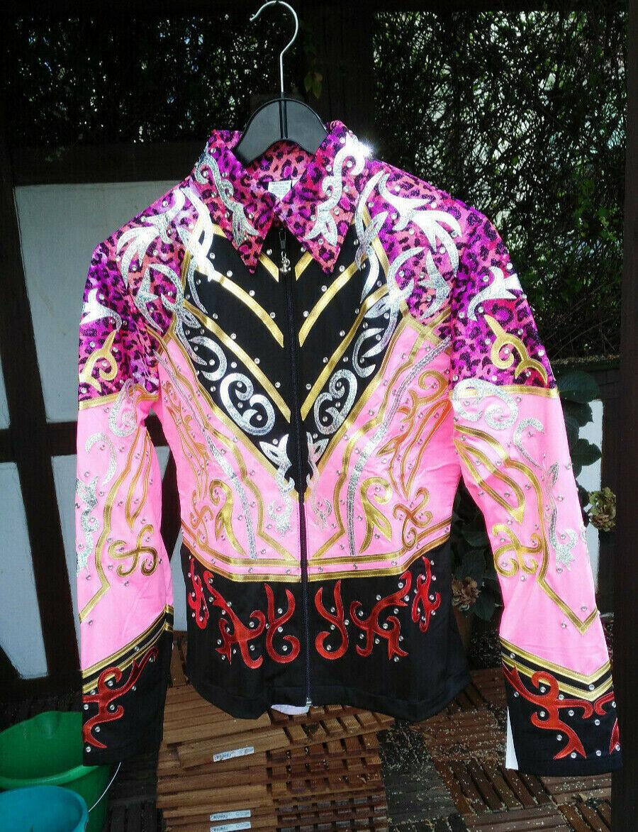 Western Showslinky, Showoutfit, APPAREL Damen L, viel Glitzer, pink, neu!!!