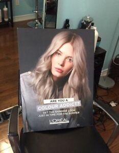 Moving sale! L'Oréal poster