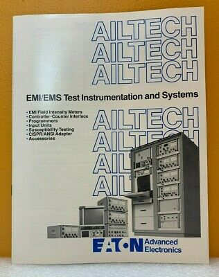 Eaton Advanced Electronics Ailtech Emiems Test Instruments Systems Catalog.