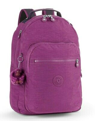 Kipling CLAS SEOUL Backpack with Laptop Compartment - Urban Pink C
